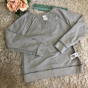 Banana Republic Tops - $Banana Republic Reversible Polka Dot Sweatshirt
